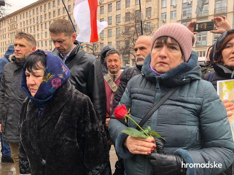 В Киеве прошли Маршем памяти в честь Героев Небесной Сотни