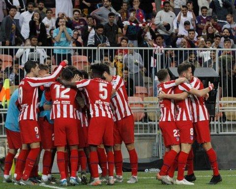 Атлетико выиграл у Барселоны и пробился в финал Суперкубка Испании