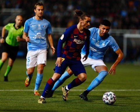 Барселона едва не проиграла в Кубке Испании Ибице: «блаугранас» спас дубль Гризманна