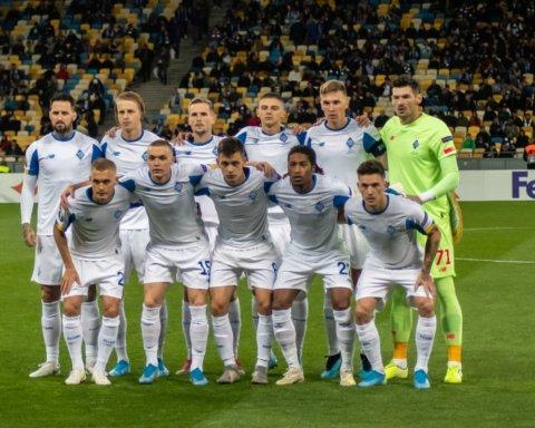 Украину в новом сезоне еврокубков представят пять команд