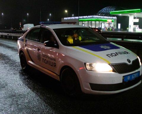 В Борисполе полицейский насмерть сбил прохожего