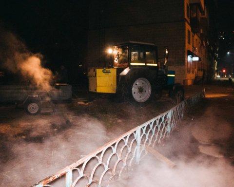 У Києві прорвало ще одну трубу: окріп залив декілька вулиць