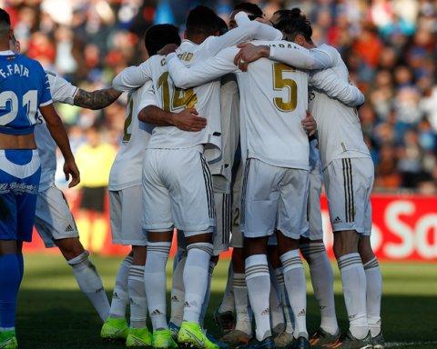 Хетафе – Реал – 0:3: онлайн-трансляція матчу Ла Ліги