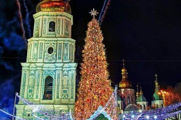 Київська ялинка потрапила до п'ятірки найкращих у Європі