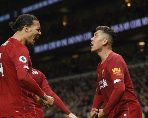 Тоттенхэм — Ливерпуль — 0:1: онлайн-трансляция матча АПЛ