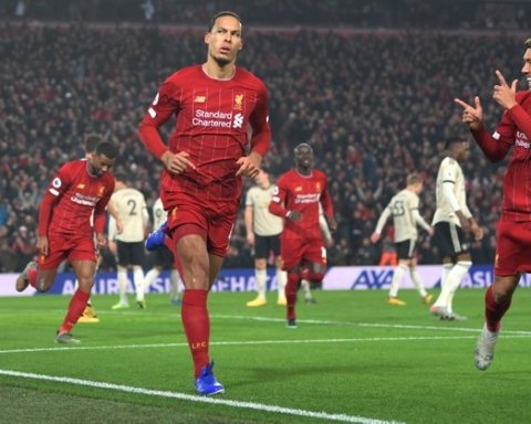 Ливерпуль — Манчестер Юнайтед — 2:0: онлайн-трансляция матча АПЛ