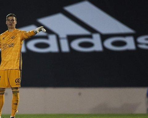 В дебютном матче за Овьедо украинец Лунин пропустил курьезный гол
