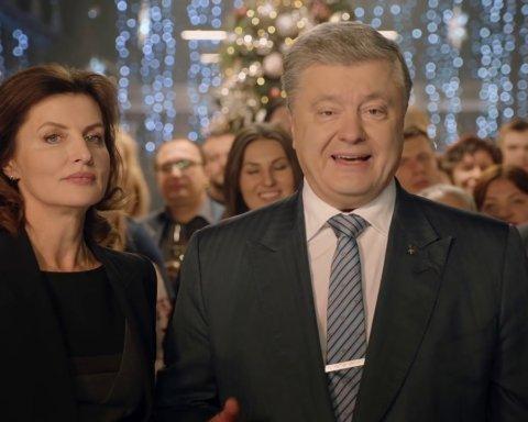 Два телеканала показали поздравление Порошенко вместо поздравления Зеленского