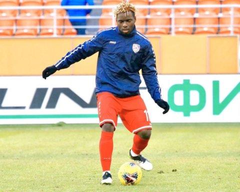 Динамо усилилось нигерийцем, который до этого играл за Тамбов