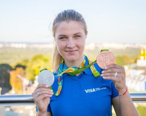 Названа лучшая спортсменка Украины в декабре