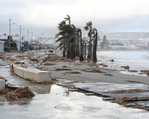 """Від шторму """"Глорія"""" в Іспанії загинув українець"""