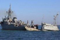 В окупованому Криму помітили захоплені українські кораблі ВМС