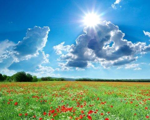 В Украину ворвалось лето: на Троицу ожидается +30