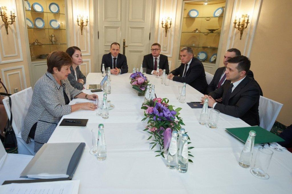 Зеленский встретился с главой МВФ: о чем договорились