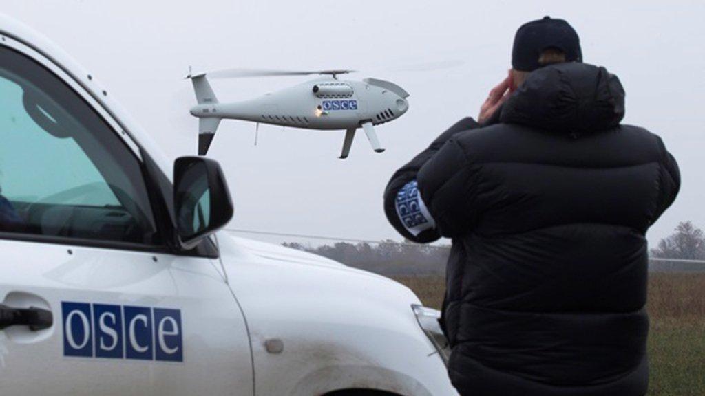ОБСЄ зафіксувала тисячі вибухів під час загострення на Донбасі