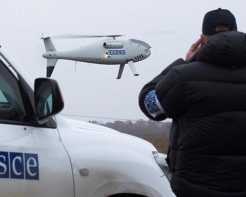 ОБСЕ зафиксировала тысячи взрывов во время обострения на Донбассе