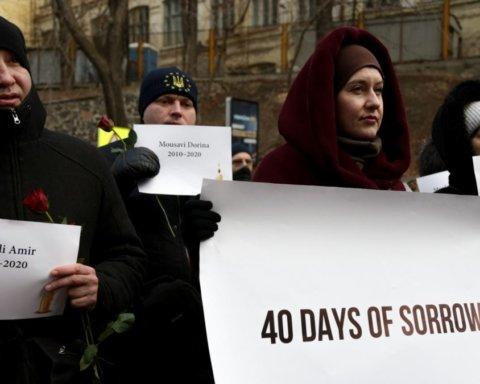 В Украине почтили память погибших в крушении самолета МАУ: 40 дней от катастрофы
