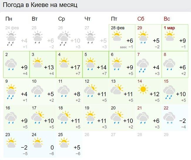Много тепла и мало дождей: синоптики уточнили прогноз погоды на первый месяц весны