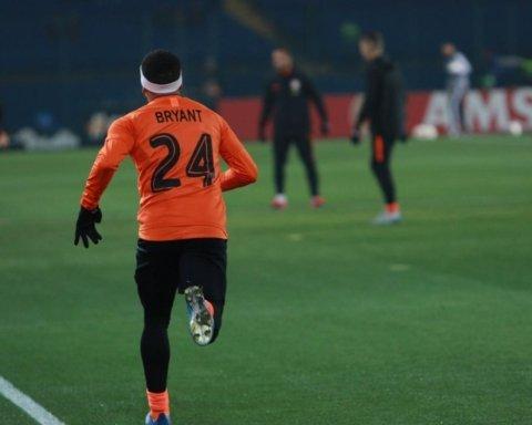 Тайсон на матч Ліги Європи вийшов у футболці Кобі Брайанта