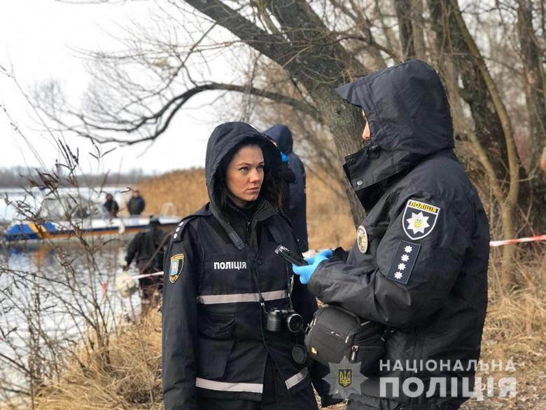 В Киеве из Днепра выловили пакет с головой человека