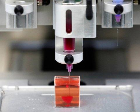 Ученые создали 3D-принтер, который печатает кожу: подробности