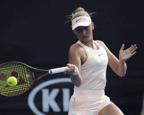Украинка Костюк выиграла в Каире одиночный и парный турниры