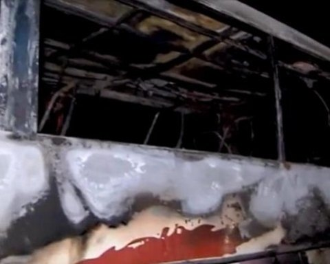 У Польщі на ходу загорівся автобус з українцями: все потрапило на фото
