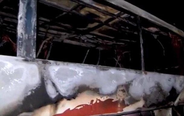 В Польше на ходу загорелся автобус с украинцами: все попало на фото