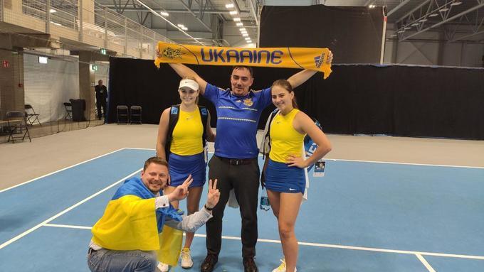 Збірна України розгромила хорваток на Кубку Федерації