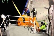 Корабль РФ затонул в Балтийском море