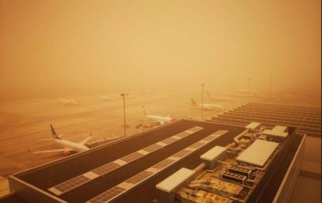 Элитный курорт накрыла страшная песчаная буря: фото и видео ЧП