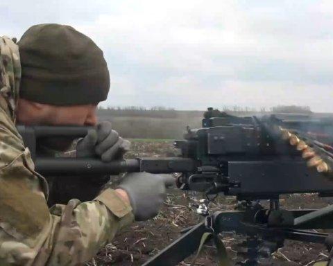 Как боевики обстреливают позиции ВСУ на передовой: появилось видео