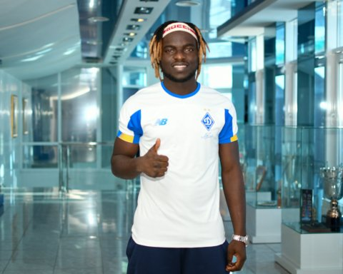 Молодий нігерієць підписав контракт з Динамо