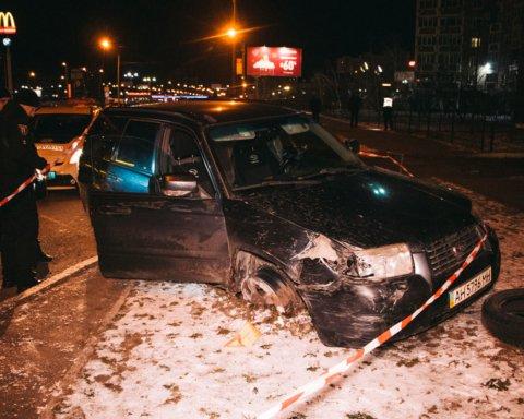 У Києві двоє чоловіків влаштували погоню та перестрілку з поліцією
