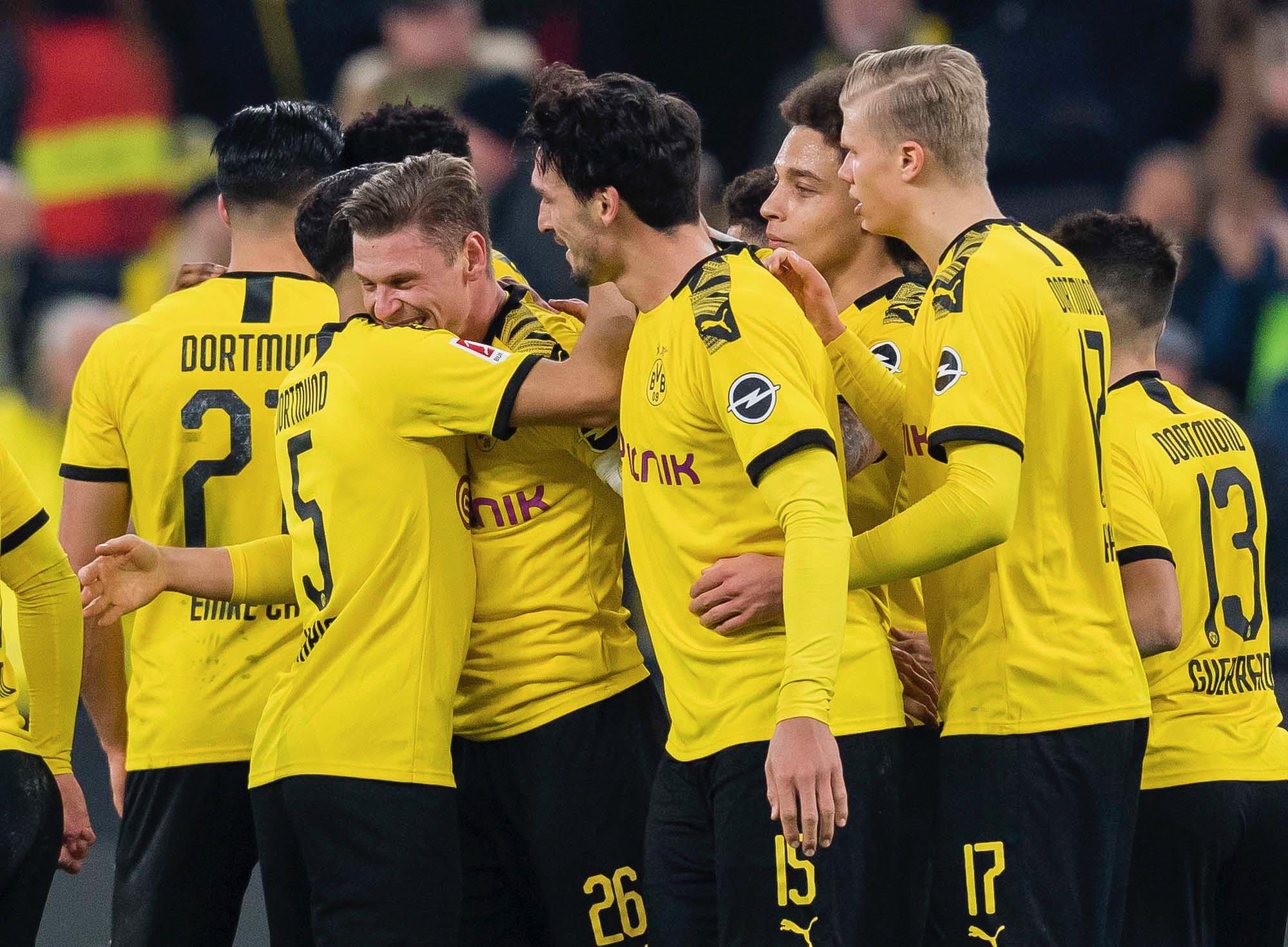 Боруссія - Айнтрахт: онлайн-трансляція матчу Бундесліги - новини спорт