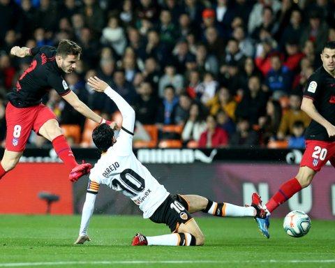 Валенсія – Атлетіко – 2:2: онлайн-трансляція матчу Ла Ліги