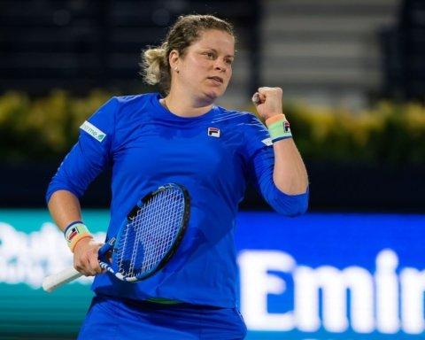 Знаменита Клійстерс повернулася: бельгійка вперше за 7,5 років зіграла на турнірі