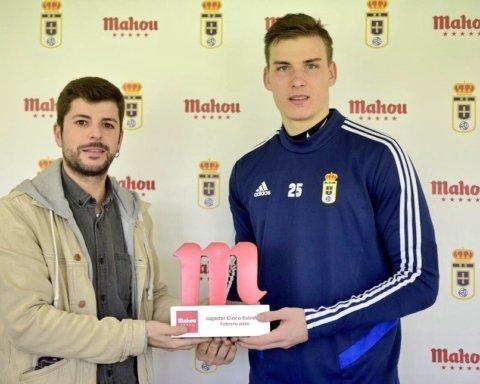 Лунин в Испании получил приз лучшему игроку месяца