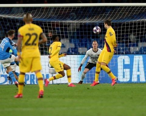 Наполи — Барселона — 1:1: онлайн-трансляция матча Лииг чемпионов