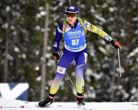 Сборная Украины завоевала бронзу на чемпионате Европы по биатлону