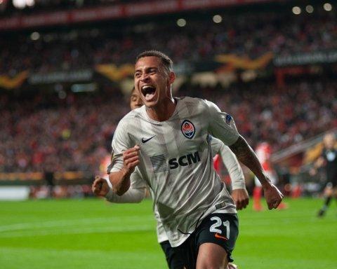 Бенфика — Шахтер — 3:3: онлайн-трансляция матча Лиги Европы