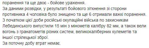 Загострення на Донбасі: у бойовиків великі втрати