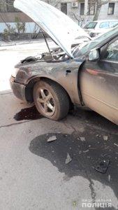 Автомобиль взорвался прямо на глазах: в Днепре произошло жуткое ЧП