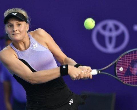 Ястремська програла в першому колі турніру в Дубаї