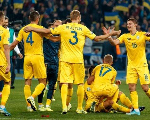 Обновленный рейтинг ФИФА: известна позиция сборной Украины