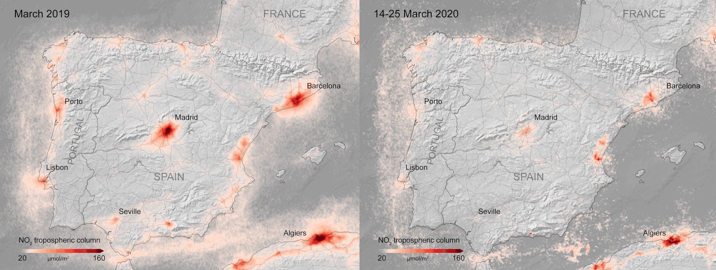 Как карантин повлиял на планету: фото со спутника