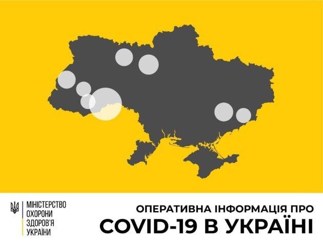 МОЗ обнародовал новые данные о коронавирусе в Украине