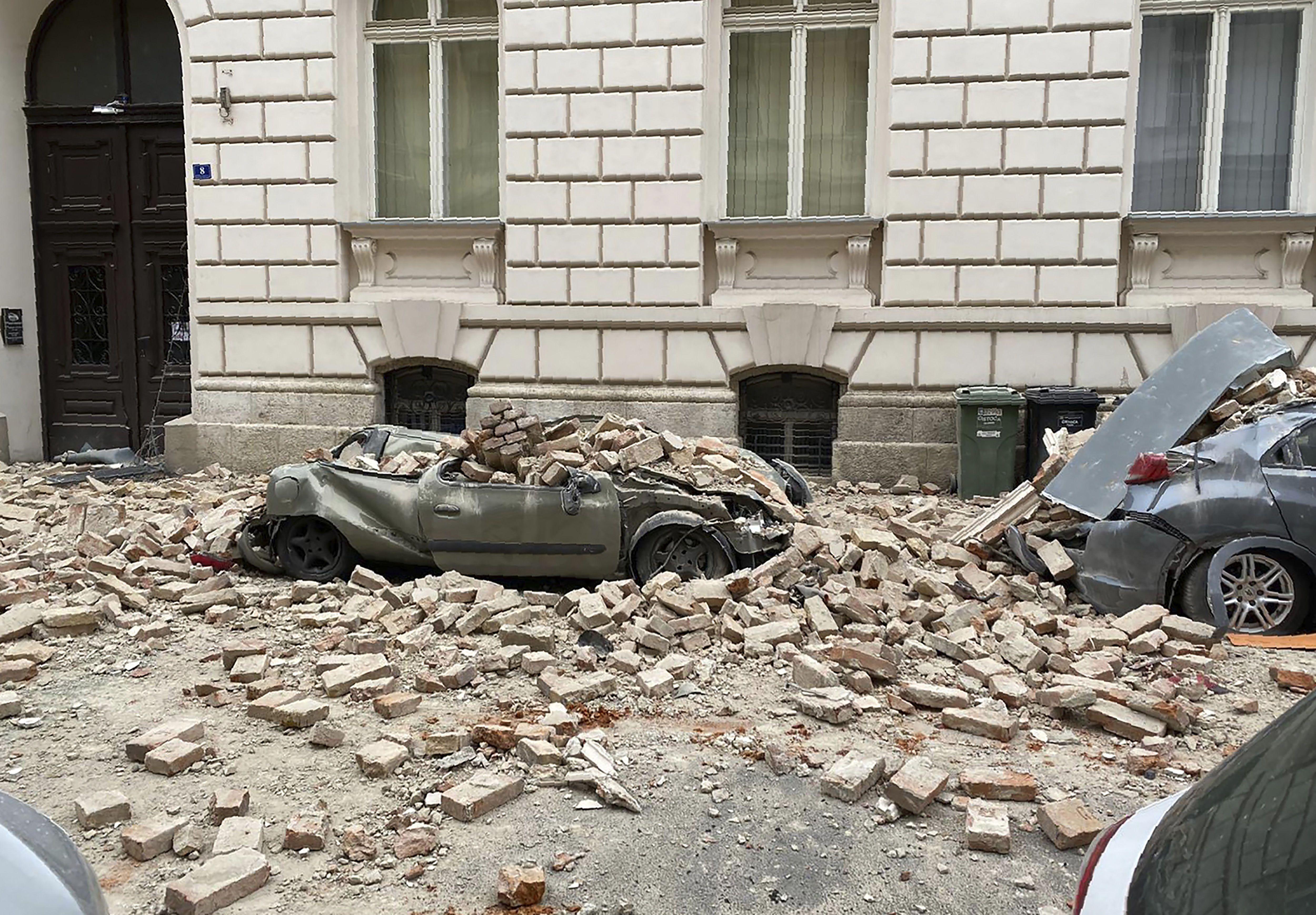 В Хорватии произошло мощное землетрясение: есть раненые