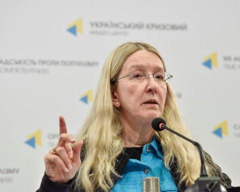 Супрун рассказала о тестах на коронавирус в Украине