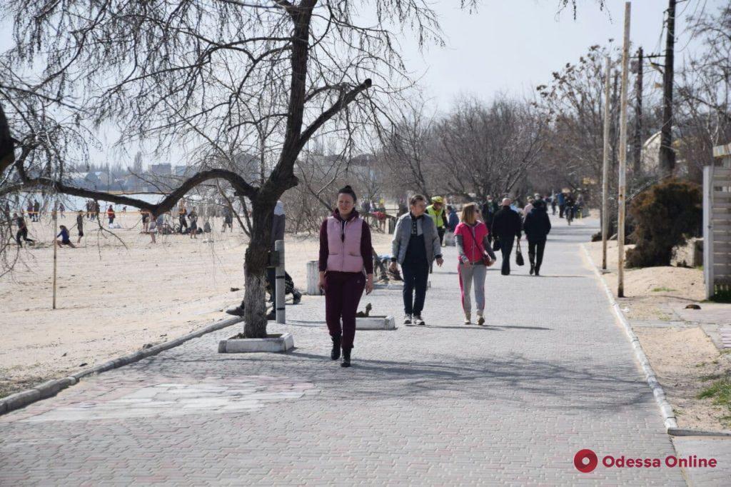 Жителі Одеси масово ігнорують карантин